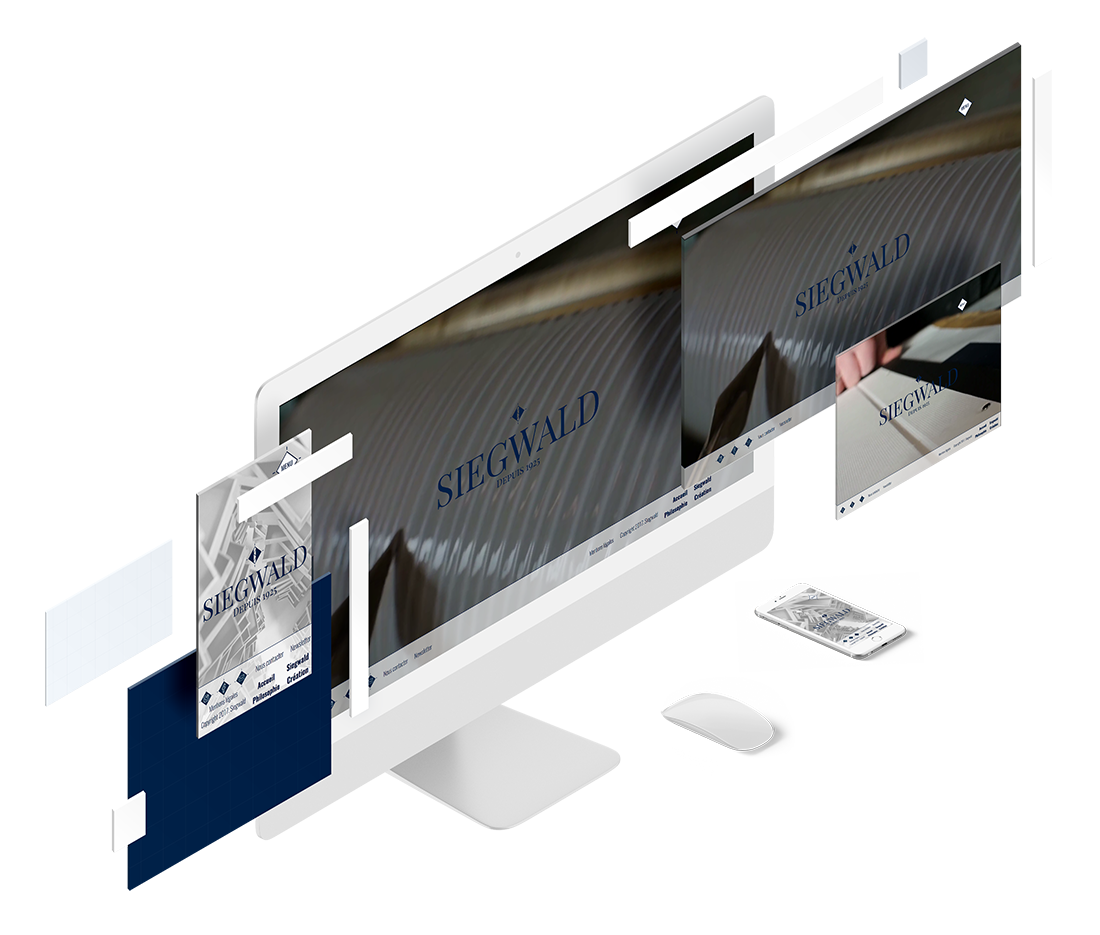 mockup ordinateur 3d site web cartonnages-siegwald.fr